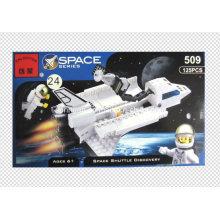 Space Series Designer Blizzard Shuttle Découvrez 125PCS Blocks Toys