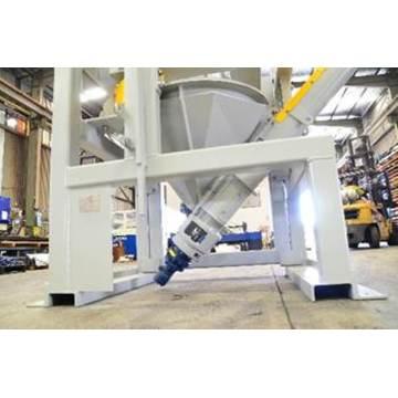 Transportador de parafuso inclinado para cimento