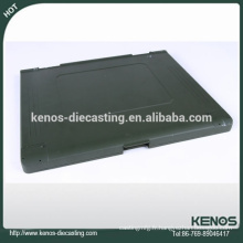 Cas d'ordinateur portable d'usinage de commande numérique par ordinateur Zinc moulage mécanique sous pression, pièces de moulage galvanisées