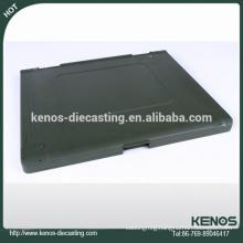 CNC machining laptop case Zinc die casting, Galvanized casting parts