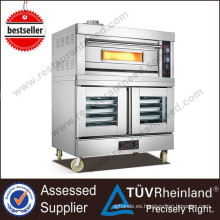 Restaurante Profesional Gas Deck Oven 2 bandejas
