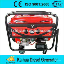 China de la venta caliente hizo el generador de gasolina refrigerado por aire 3kw con buena calidad y el mejor precio