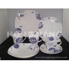 Костяного фарфора Набор посуды (HJ068002)