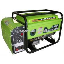 Переносной дизельный сварочный генератор на одну / три фазы