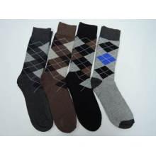 Мужчины хорошее качество хлопка случайные Экипаж носки