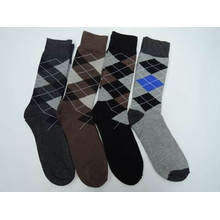 Men Good Quality Cotton Casual Crew Socks