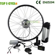 TOP / OEM más populares al por mayor 36 v 350 w kit de conversión de ebike de rueda delantera