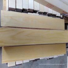 E1 Plancher de bois d'ingénierie en bouleau 3 contreplaqués