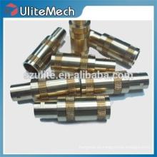 CNC de alta precisión que da vuelta a la fabricación de encargo del metal del acero inoxidable