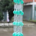 Decorative Hanging Room Divider Crystal Bead Ball Chain Bead Curtain