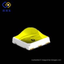 Haute puissance de rayonnement 5050 SMD 1w 375 + 395 double puces pour la polymérisation UV LED