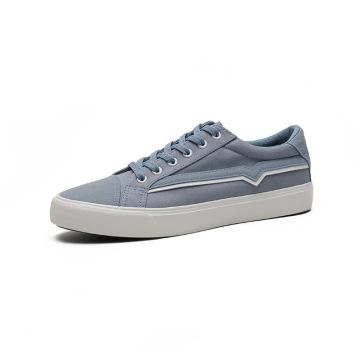 2021 холст ткань боковая линия дизайн вулканизированная обувь