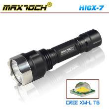 Maxtoch HI6X-7 inox ataque cabeça LED Lanterna 18650