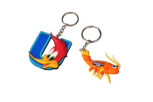 Personalised Cartoon Keychains
