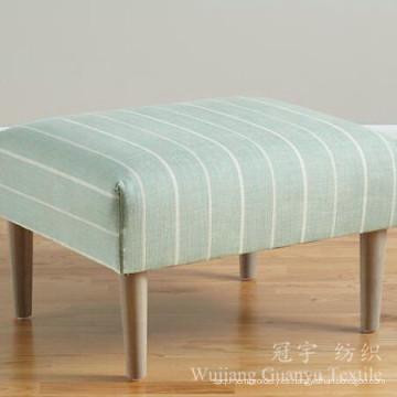 Impresión de tela 100% de Linentte del lino para las cubiertas del sofá