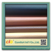 Cuir d'ameublement de PVC pour le sofa et les chaises