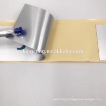 Autoadesivo personalizado durável engrossar etiqueta de dragão de prata brilhante embalagem Elétrica