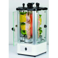 Smokeless mini vertical electric kebab machine