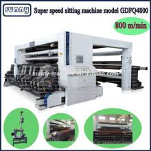 película plástica de corte máquina fabricante CE aprovado