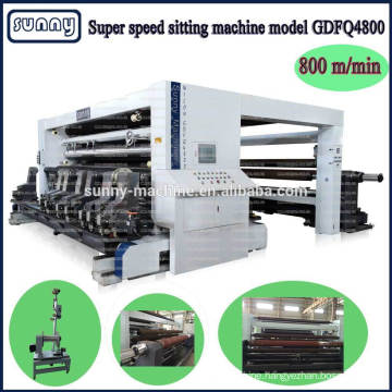 plastic film slitting machine manufacturer CE approved