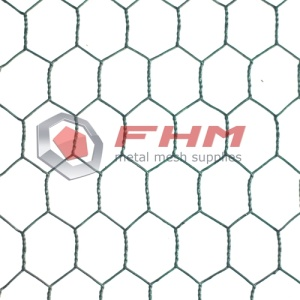 Vinyl Coated PVC Hexagonal Wire Netting untuk Garden