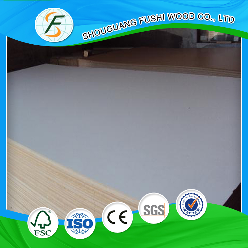 Furniture Material Red Wood Grain Face Melamine MDF