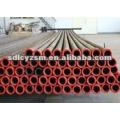 Wear resisting ceramic lined steel pipe