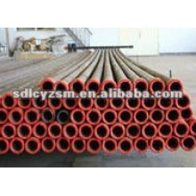 Wear resisting ceramic lined steel pipe