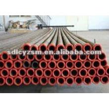 Tubo de aço forrado a cerâmica resistente ao desgaste