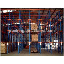 Estantes ajustables de acero del estante de almacenamiento, estante de almacenamiento fifo de acero unidad de la sala fría en estante