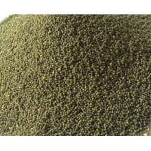 Envasado al vacío de 500 g venta caliente de mijo verde glutinoso orgánico para el supermercado
