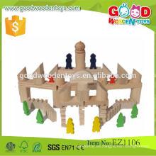 108pcs El ladrillo educativo de madera popular más nuevo del juguete de DIY en la acción