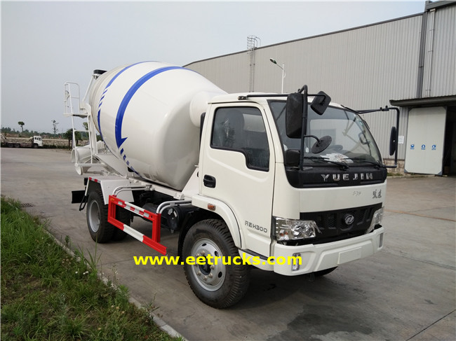 Concrete Mixer Transport Truck
