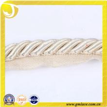 Weißes kundenspezifisches Seil für Kissen-Dekor-Sofa-Dekor-Wohnzimmer-Bett-Raum