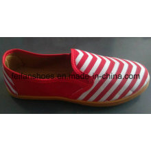 Neueste billige gute Qualität Mix Farbe Canvas Schuhe Stock (FF521-1)