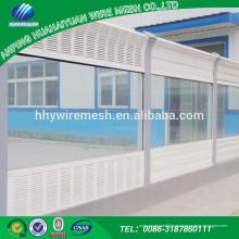 Fornecimento de preço de fábrica contemporânea Nova chegada personalizado feito barreira de ruído de estrada de tráfego