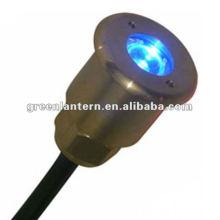 A mais alta qualidade IP68 latão 1W 2W 3W 12V LED piscina luz