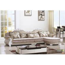 Nova chegada real estilo tecido sofá, sofá de Europa (2069)