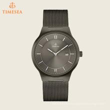 Reloj de hombre de cuarzo de acero inoxidable, color: Gris 72543