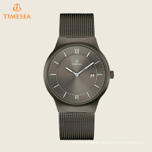 Men′s Quartz Stainless Steel Casual Watch, Color: Grey 72543