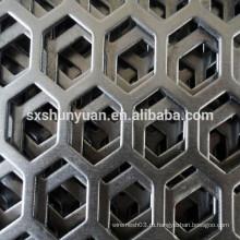 Перфорированная листовая сталь высокого качества с перфорацией