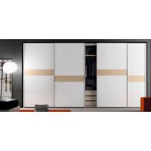 Venta al por mayor blanco de alta calidad armarios personalizados