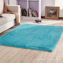 tapis de shaggy moderne 100% polyester direct usine