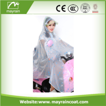 Promotional Transparent Adult Raincoat Poncho