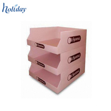 3 Tiers Cardboard Counter Display Box,Template Cardboard Counter Top Display Boxes