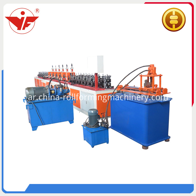 T Ceiling Grid Roll Forming Machine
