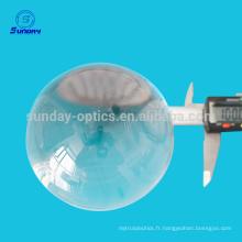 Lentille optique d'offre d'usine avec le diamètre 0.65mm à la lentille de boule de verre de 200mm