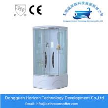 Cabine de douche de salle de bains avec le verre trempé de 5mm