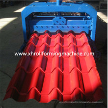 Máquina formadora de rollos de hojas de color