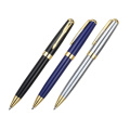 Gold trim metal pen